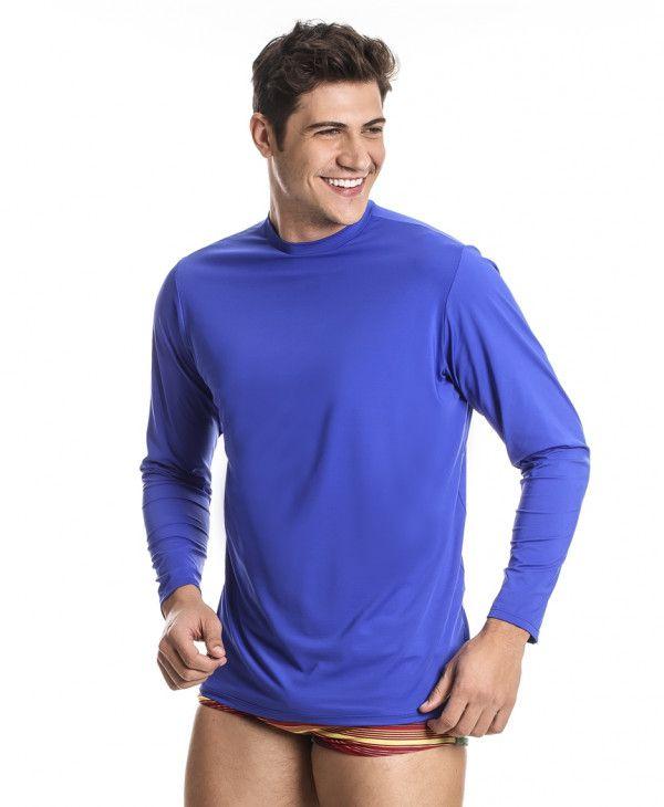 Camiseta Proteção Solar UV 50 Masculina - 3234 M