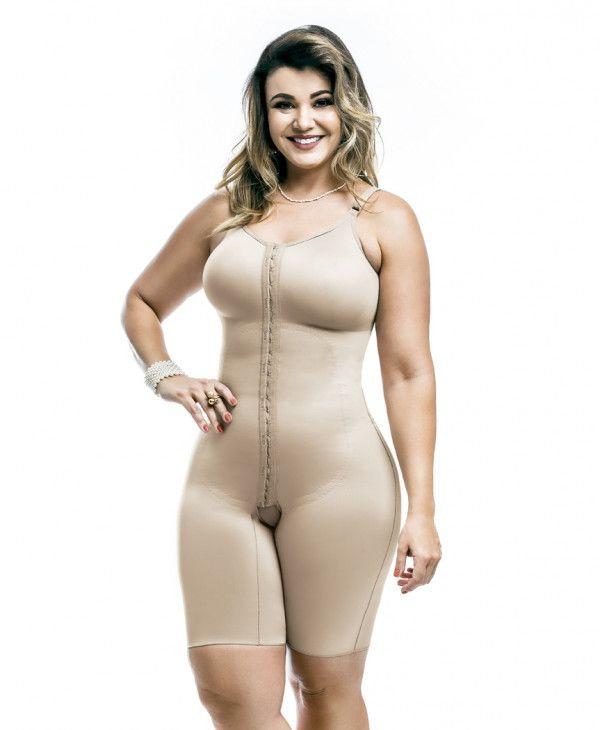 Modelador com Pernas e Abertura Frontal - 3019 X