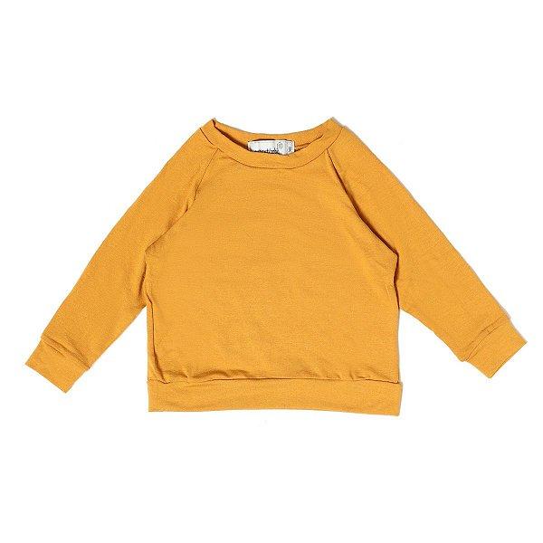 Camisa Manga Longa Comfy Mostarda