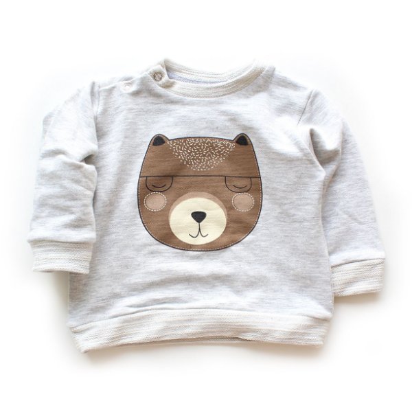 Moletom Blusão Bear