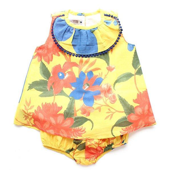Vestido Bebê Solar