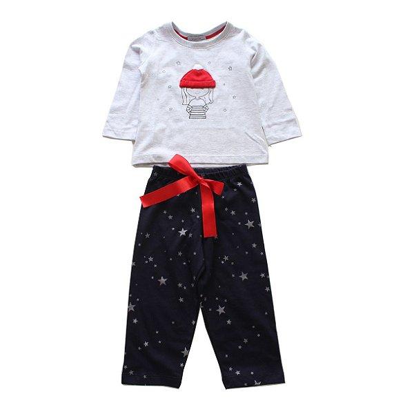 Pijama Mescla Gorrinho
