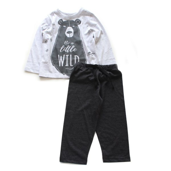 Pijama Be Little Wild Urso
