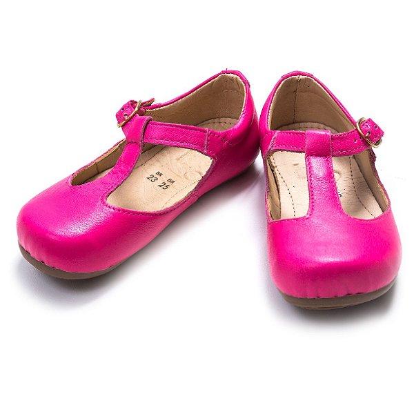 Sapatilha Boneca Hot Pink