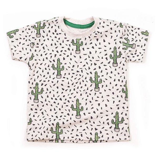 T-shirt Cactus Mesclado