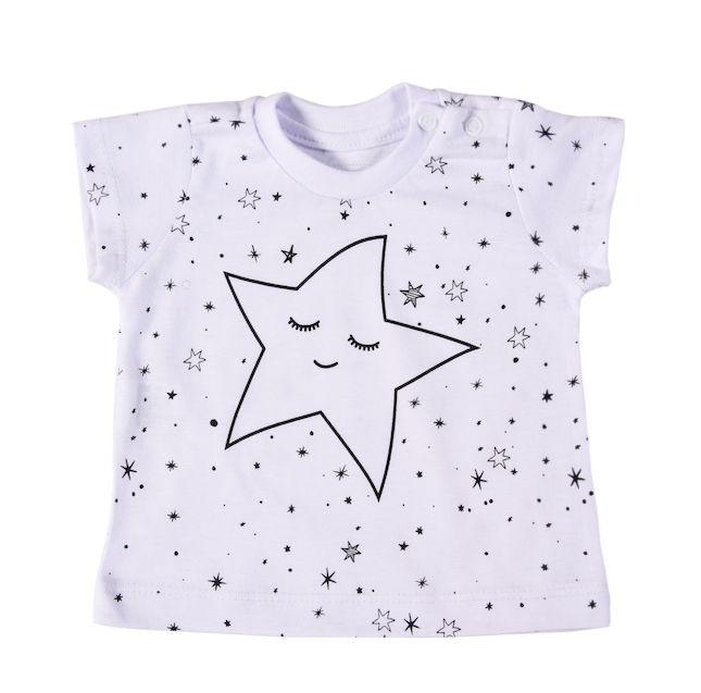 T-shirt Star Branca