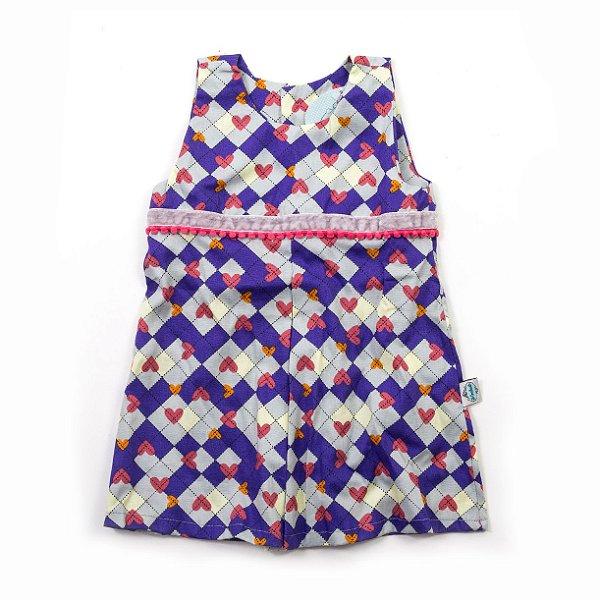 8bc1090bc Vestido Vintage Hearts - CutiCutiBaby - Roupas e Acessórios para ...
