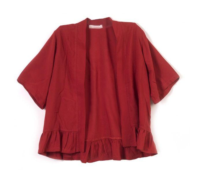 Bata Kimono Ferrugem