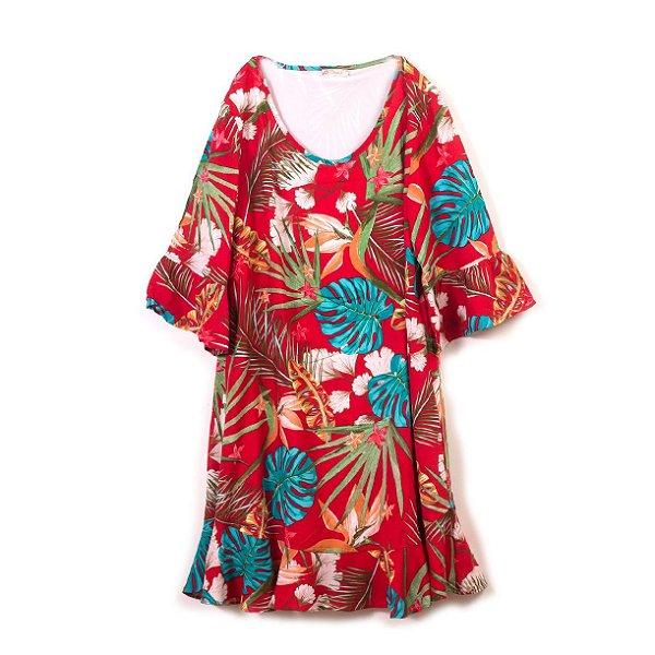 Vestido Folhagem - MÃE