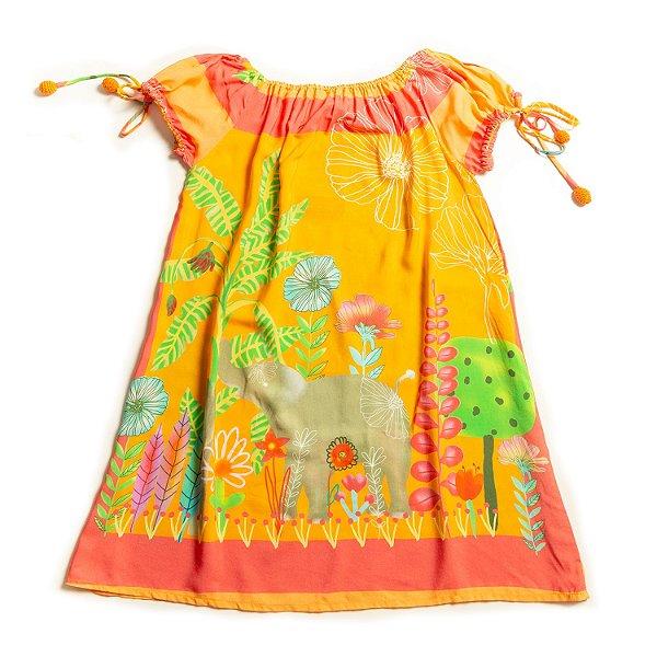Vestido Frufru Elefante