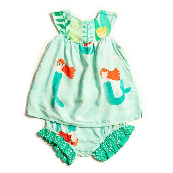 Vestido Baby Sereia
