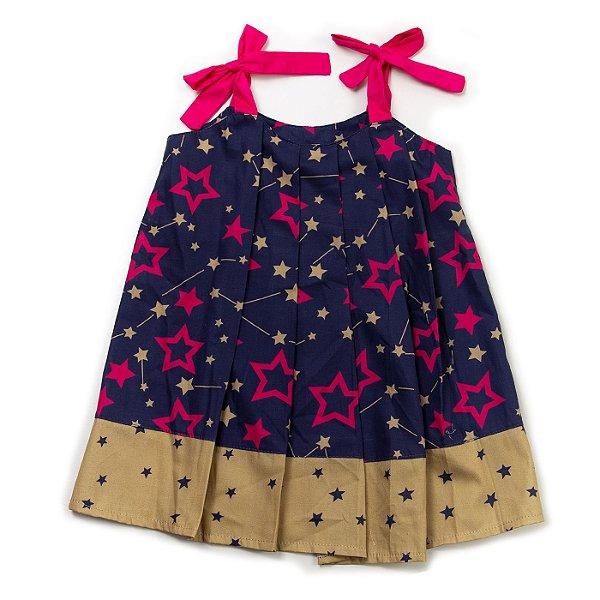Vestido Plissado Stars