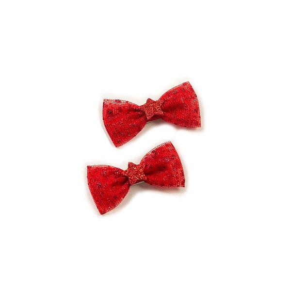 Mini Lacinhos Tule Red