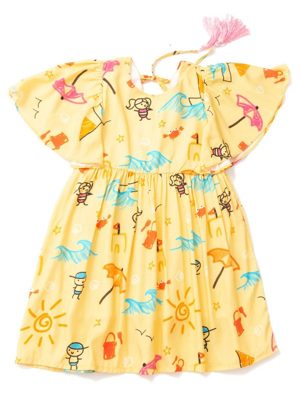 Vestido Pompom La Praya