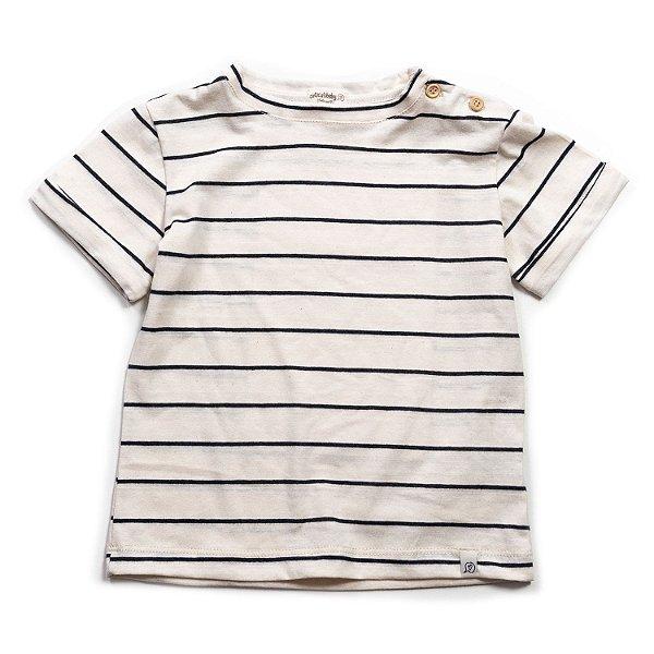 T-shirt Street Listras Offwhite