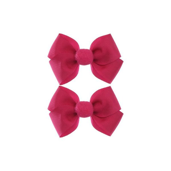 Laço Pompom Bella - Pink