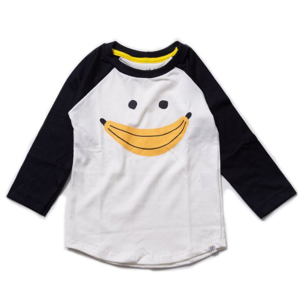 T-shirt Raglan Long - Banana