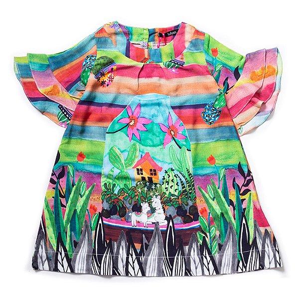 Vestido Lhamas