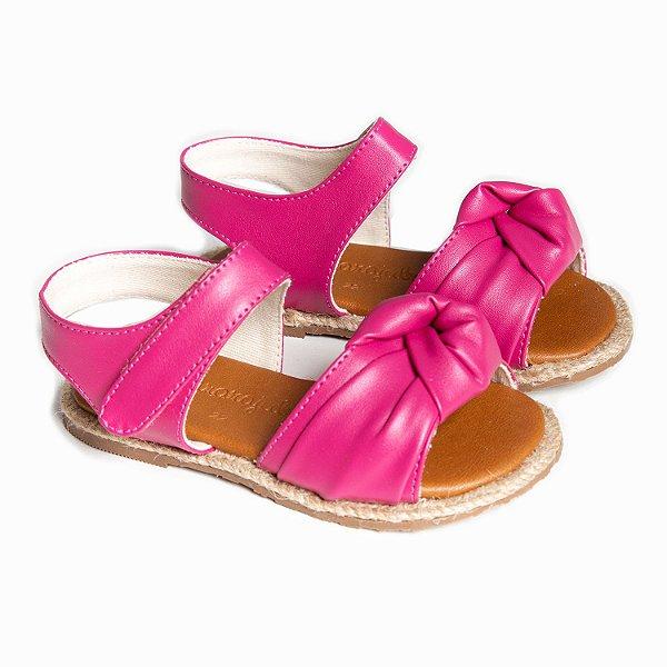 Sandália Corda Nó Pink