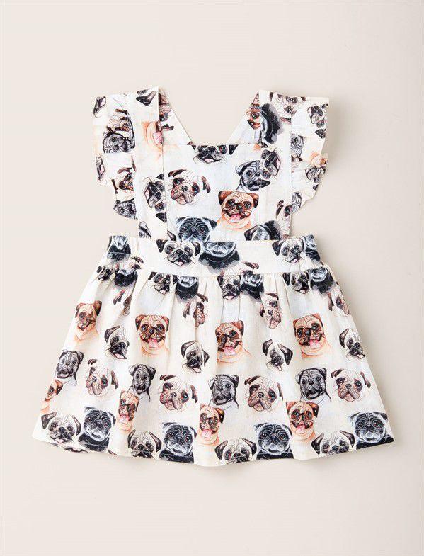 Vestido Baby Acinturado Pug