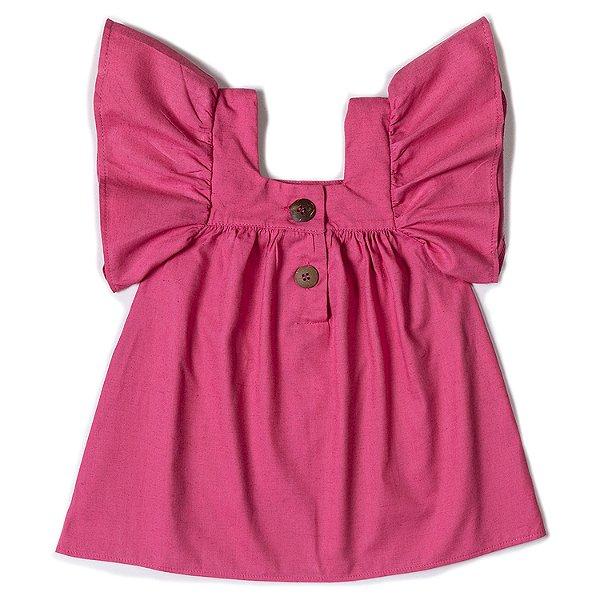 Vestido Linho Goiaba