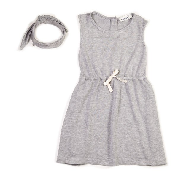 Vestido Fresh Mescla + Faixa