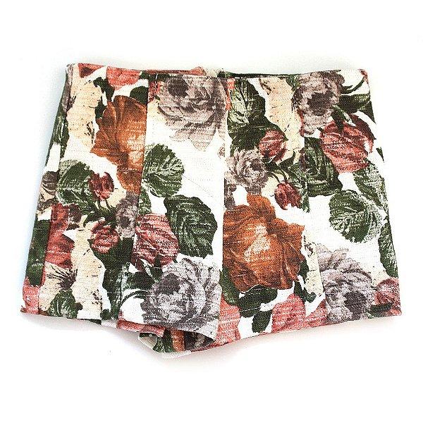 Short Hot Pants Floral