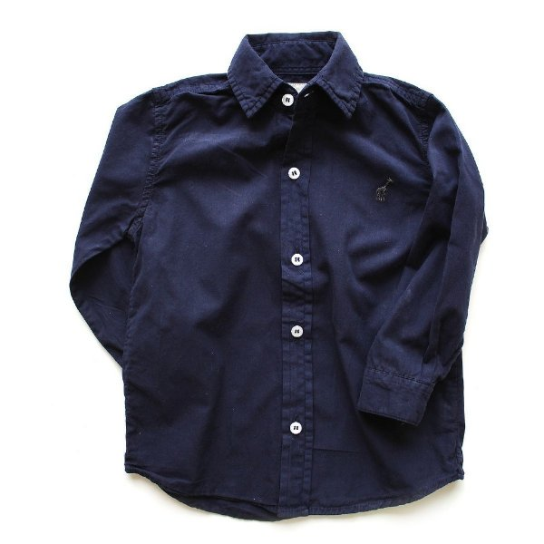 Camisa de Botão Toffee Marinho