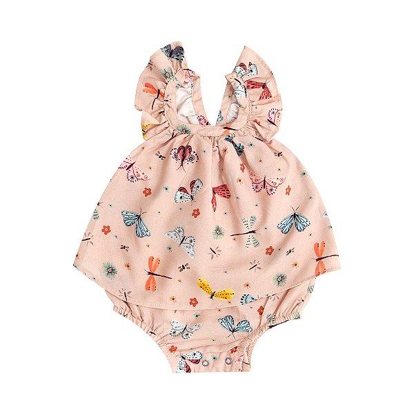 Vestido Baby Borboletas