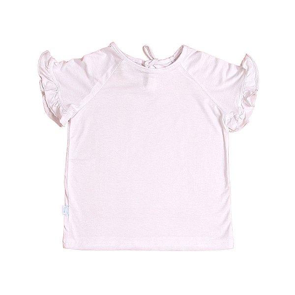 T-shirt Babado Branca