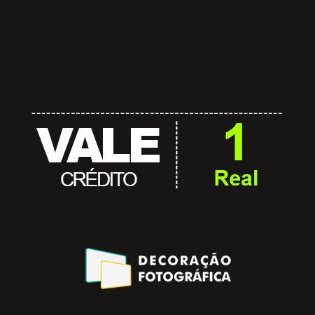Vale Crédito de 1 real