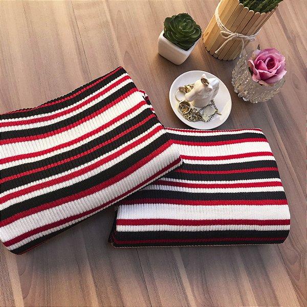Blusa Tricot Navy Stripes