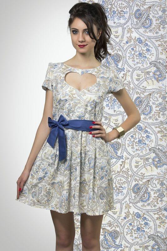 Vestido Fleurs di Versailles