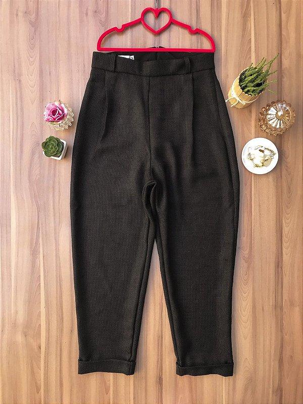 Calça Tweed Black