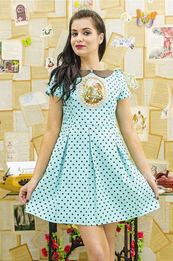 Vestido Alice in Wonderland