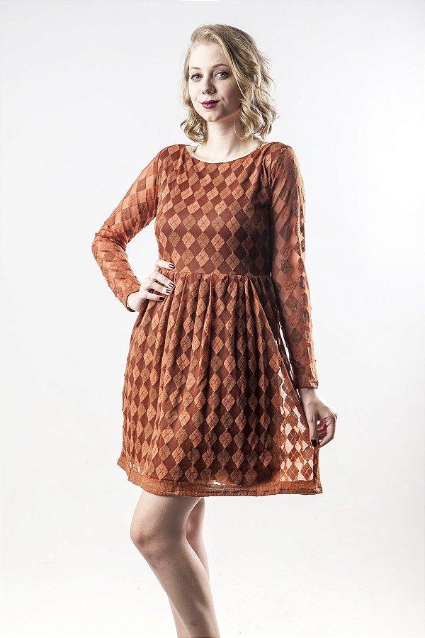 Vestido Xadrez Argyle Loveit