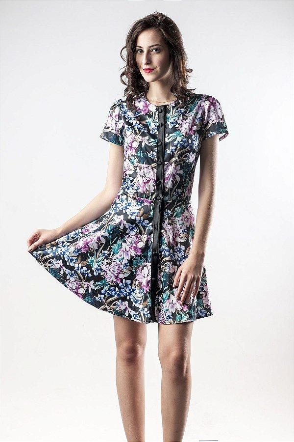 Vestido Jardim Nipônico