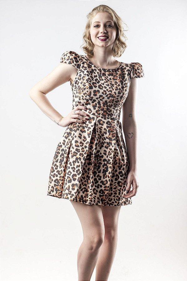 Vestido Miss Leopard