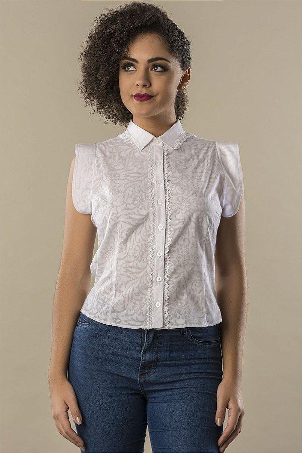 Camisa Love White