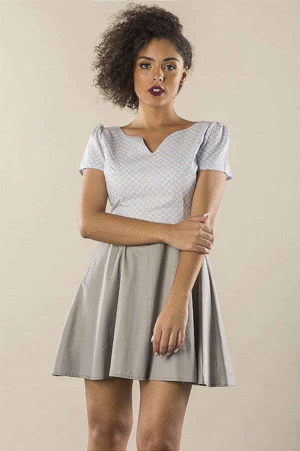 Vestido Azulejo Inglês