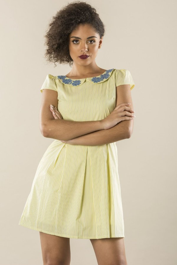 Vestido Yellow Charmous