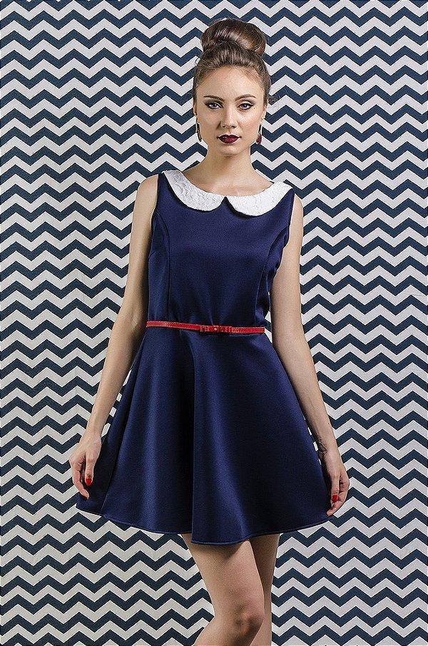 Vestido Doll Blue