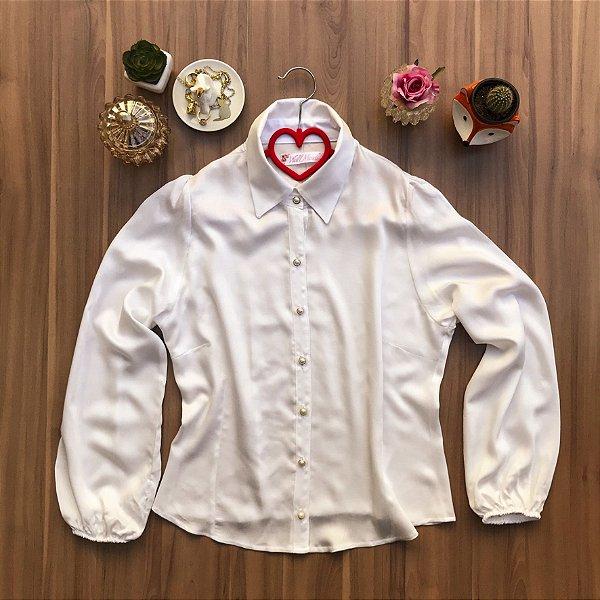 Camisa Basic Pearl