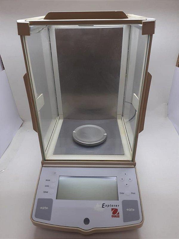 BALANÇA OHAUS MODELO EXPLORER CAPACIDADE 210G X 0,0001 (REVITALIZADA)