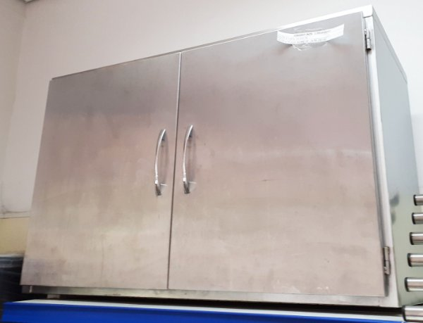 Armário de Aço inox 1,00x45x64