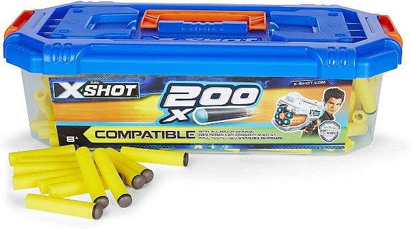 X Shot REFIL com 200 Dardos - Candide