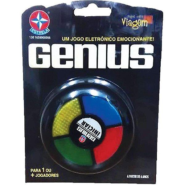 Jogo Genius PARA VIAGEM ! - Estrela