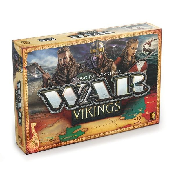 Jogo War - Vikings - Grow