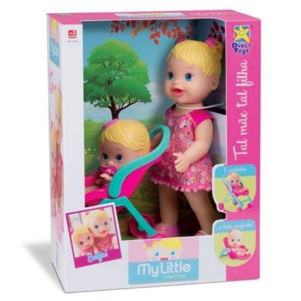 Boneca My Little Collection 'Tal Mãe Tal Filha' - Diver Toys