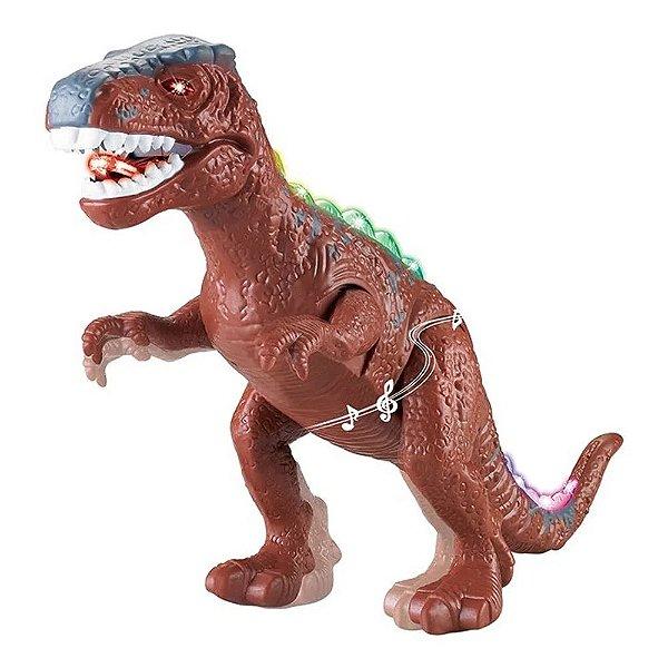 Dinossauro com Som Dino Valley - Art Brink